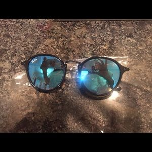 971230b3d Ray-Ban Accessories | Round Fleck Flash Lenses Gradient Ray Bans ...